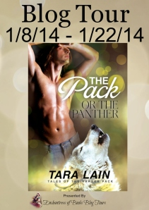 The Pack or the Panther Blog Tour Badge